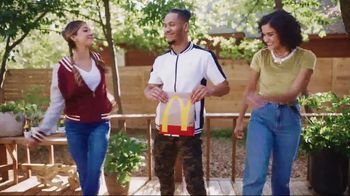 McDonald's TV Spot, 'Stop and Share Some Joy: McNuggets and Fries Bundle' Song by Kenny Moron, Gerald Flores - Thumbnail 4