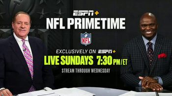 ESPN+ TV Spot, 'NFL Primetime'