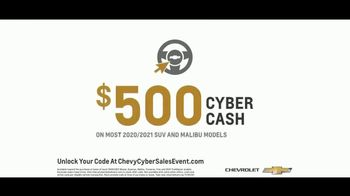 Chevrolet Cyber Sales Event TV Spot, 'Just Better' [T2] - Thumbnail 7