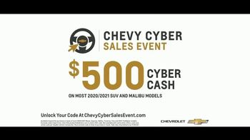 Chevrolet Cyber Sales Event TV Spot, 'Just Better' [T2] - Thumbnail 8