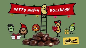 Nuts.com TV Spot, 'Nutty Holiday: Fast Shipping'