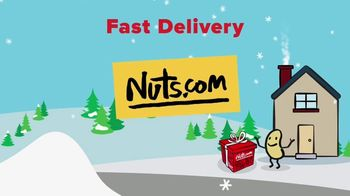 Nuts.com TV Spot, 'Nutty Holiday: Fast Shipping' - Thumbnail 7