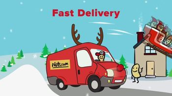 Nuts.com TV Spot, 'Nutty Holiday: Fast Shipping' - Thumbnail 6