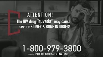 Goldwater Law Firm TV Spot, 'Truvada Medication Complications' - Thumbnail 3