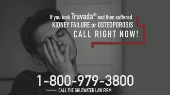 Goldwater Law Firm TV Spot, 'Truvada Medication Complications' - Thumbnail 4