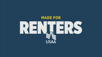USAA  Renters Insurance TV Spot, 'Making the Most of It'