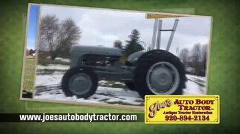 Joe's Auto Body Tractor TV Spot, 'Celebrating 50 Years'