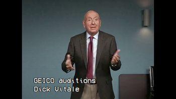 GEICO TV Spot, 'GEICO Claims Audition: Dick Vitale'