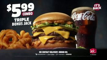 Jack in the Box Triple Bonus Jack Combo TV Spot, 'Review From the Front Seat' - Thumbnail 9