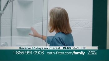 Bath Fitter TV Spot, 'Family Fitter: Save 10%'