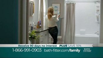 Bath Fitter TV Spot, 'Family Fitter: Save 10%'