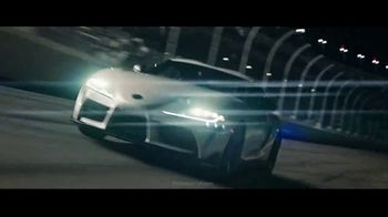 2021 Toyota GR Supra TV Spot, 'Kyle Busch Signs the Line at Nascar's Daytona 500' [T1] - Thumbnail 1