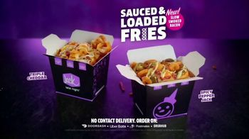 Jack in the Box Sauced & Loaded Fries TV Spot, 'Never a Bad Time' - Thumbnail 9