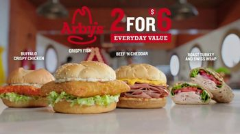 Arby's 2 for $6 Everyday Value TV Spot, 'The Sea' - Thumbnail 4
