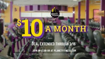 Planet Fitness TV Spot, 'Time to Get Up: Extended' - Thumbnail 9