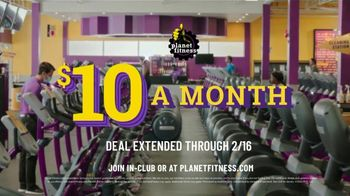 Planet Fitness TV Spot, 'Time to Get Up: Extended' - Thumbnail 8