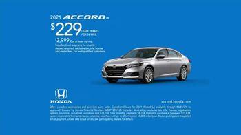 2021 Honda Accord TV Spot, 'Redesigned' [T2] - Thumbnail 7