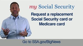 Social Security Administration TV Spot, 'Big News: My Social Security Account'