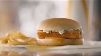 McDonald's Filet-O-Fish TV Spot, 'Half Empty, Half Full: $1 Soft Drink' - Thumbnail 1