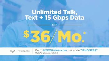 H2O Wireless TV Spot, 'iPhone SE for $99' - Thumbnail 6