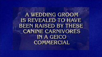 GEICO TV Spot, 'Jeopardy: Wolves' - Thumbnail 2