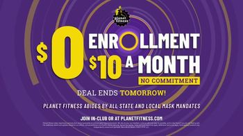 Planet Fitness TV Spot, 'Tomorrow: Ready to Move On: $10 a Month' Song by Reel 2 Real - Thumbnail 9
