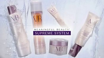 Meaningful Beauty Supreme System TV Spot, 'Age Defying: $49.95' Featuring Cindy Crawford, Ellen Pompeo - Thumbnail 1