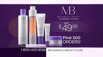 Meaningful Beauty Supreme System TV Spot, 'Age Defying: $49.95' Featuring Cindy Crawford, Ellen Pompeo - Thumbnail 10
