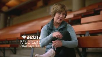 Aetna TV Spot, 'Aging Actively: $0 Monthly Plan Premiums' Featuring Dorothy Hamill - Thumbnail 3