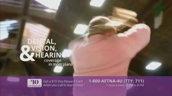 Aetna TV Spot, 'Aging Actively: $0 Monthly Plan Premiums' Featuring Dorothy Hamill - Thumbnail 7