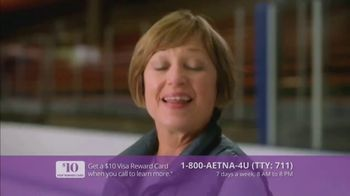 Aetna TV Spot, 'Aging Actively: $0 Monthly Plan Premiums' Featuring Dorothy Hamill - Thumbnail 8