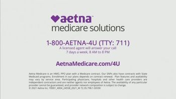 Aetna TV Spot, 'Aging Actively: $0 Monthly Plan Premiums' Featuring Dorothy Hamill - Thumbnail 9