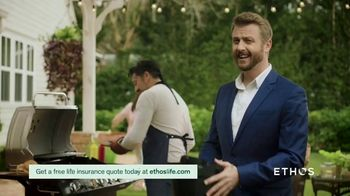 Ethos TV Spot, 'Barbeque Accident' - Thumbnail 1