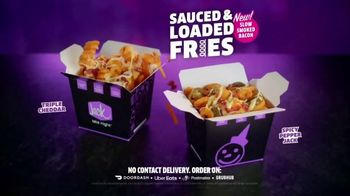 Jack in the Box Sauced & Loaded Fries TV Spot, 'Never a Bad Time: Drive-Thru' - Thumbnail 8