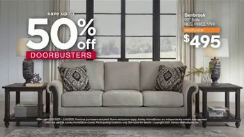 Ashley HomeStore Presidents Day Sale TV Spot, 'Final Four Days: Save Up to 50% Off Doorbusters' - Thumbnail 3