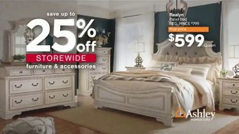 Ashley HomeStore Presidents Day Sale TV Spot, 'Final Four Days: Save Up to 50% Off Doorbusters' - Thumbnail 7
