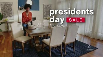 Ashley HomeStore Presidents Day Sale TV Spot, 'Final Days: 20% Off' - Thumbnail 1