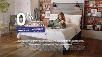 Ashley HomeStore Presidents Day Mattress Marathon TV Spot, 'Extendida: 0% intereses' [Spanish] - Thumbnail 3