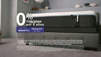 Ashley HomeStore Presidents Day Mattress Marathon TV Spot, 'Extendida: 0% intereses' [Spanish] - Thumbnail 4
