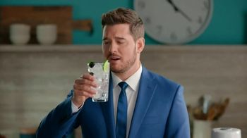 SodaStream bubly Drops TV Spot, 'Michael Bublé Makes Fresh Sparkling Water' - 340 commercial airings