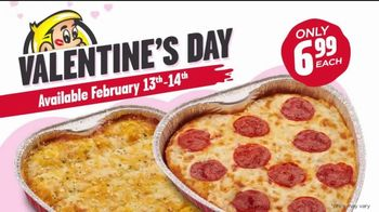 Hungry Howie's Heart-Shaped Pizza TV Spot, 'Valentine's Day: Irresistible' - Thumbnail 8