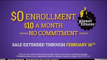 Planet Fitness TV Spot, 'No Commitment: $0 Enrollment, $10 a Month' - Thumbnail 7