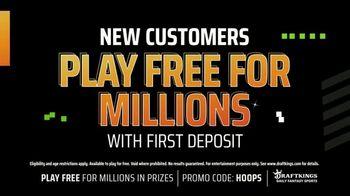 DraftKings TV Spot, 'Million Dollar Hoops: Baskets Into Bread' - Thumbnail 3