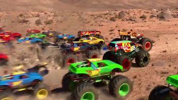 Hot Wheels Monster Trucks TV Spot, 'Crush the Road'