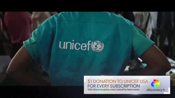 Discovery+ TV Spot, 'Help Save Lives: UNICEF' - Thumbnail 4