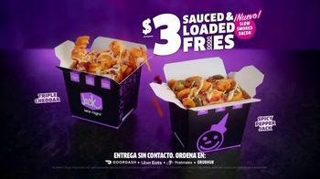 Jack in the Box Sauced & Loaded Fries TV Spot, 'Nunca es un mal momento: $3 dòlares' [Spanish] - Thumbnail 8