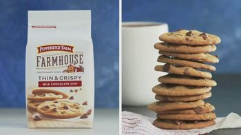 Pepperidge Farm Farmhouse Milk Chocolate Chip Cookies TV Spot, 'A Sweet Dream Come True' - Thumbnail 8