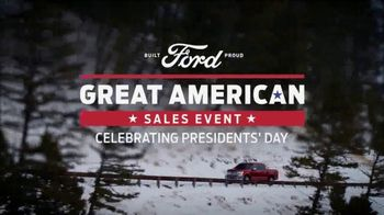 Ford Great American Sales Event TV Spot, 'Presidents Day: F-150' [T2] - Thumbnail 9
