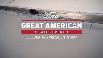 Ford Great American Sales Event TV Spot, 'Presidents Day: F-150' [T2] - Thumbnail 2
