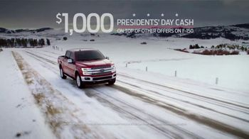 Ford Great American Sales Event TV Spot, 'Presidents Day: F-150' [T2] - Thumbnail 3